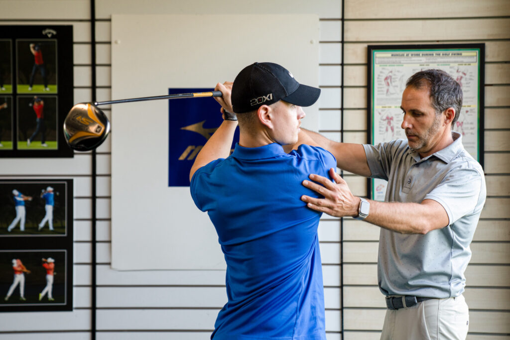 Golf lessons Chester